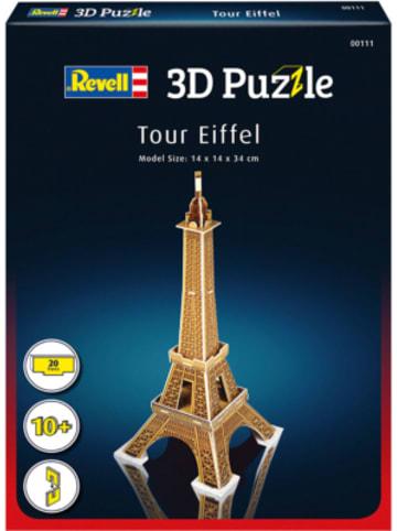 Revell 3D-Puzzle Eiffelturm, 20 Teile