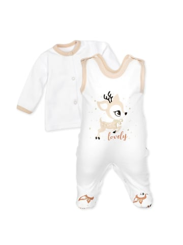 Baby Sweets 2tlg Set Strampler + Shirt Lovely Deer in bunt