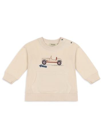 Panco Sweatshirt - mit Automotiv - für Jungen in Beige