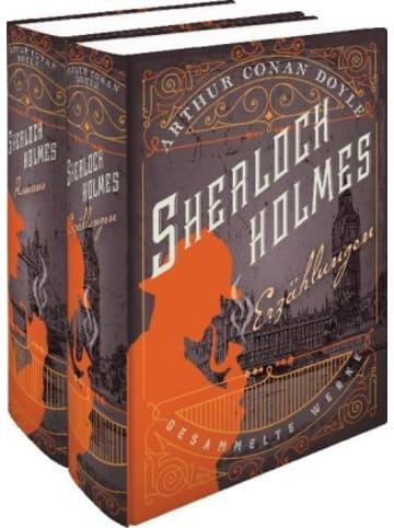 Anaconda Sherlock Holmes - Gesammelte Werke, in 2 Bdn.