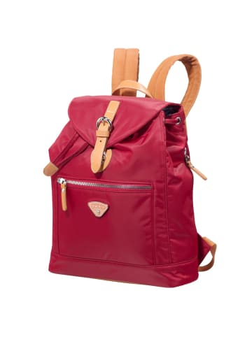 Jump Cassis Riviera City Rucksack 35 cm in red