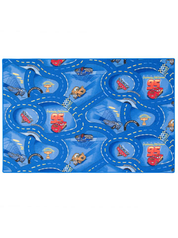 Snapstyle Kinder und Spielteppich Disney Cars in Blau