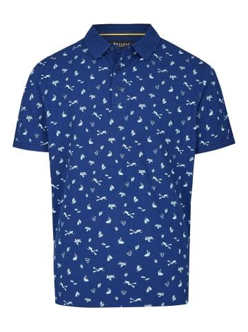 Bexleys man Poloshirt in blau