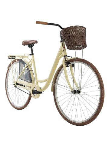 KS CYCLING Damenfahrrad Cityrad 28'' Zeeland in Beige