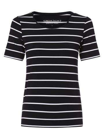 Apriori T-Shirt in marine weiß