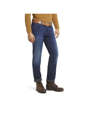 Meyer Slim-Fit-Jeans in marine