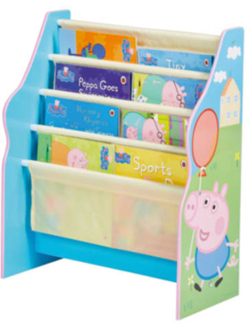 Worldsapart Bücherregal, Peppa Pig