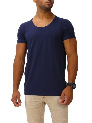 Joe Franks Joe Franks Joe Franks Herren Basic T-Shirts Round DEEP in navy