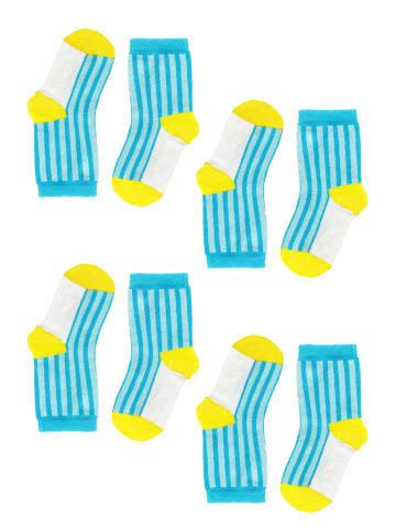 Tag Socks Unisex Kindersocken 4-Paar Multipack Verschiedene Designs in Multicolor3
