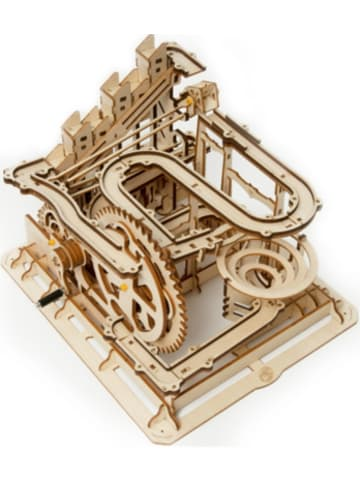 Robotime Marble Parkour - 3D-Holzpuzzle Kugelbahn-Bastelset, 254 Teile