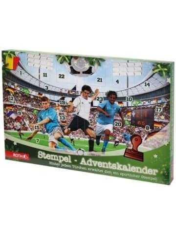 Roth Lichtentanne Stempel-Adventskalender Fußball