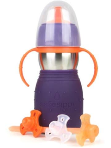 Kid Basix Trinkflasche KB-SafeSippy2 lila, 330 ml
