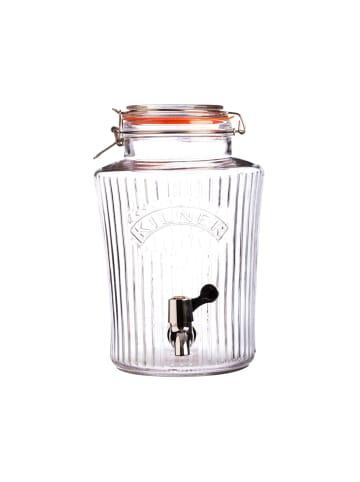 Kilner Getränkespender VINTAGE in transparent - 5 Liter