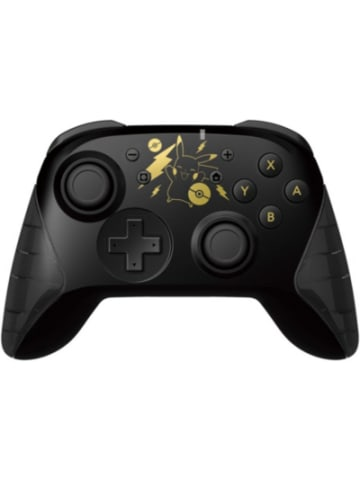 Hori Nintendo Switch Wireless Controller - Pikachu Black&Gold Ed