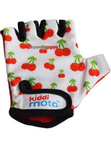 Kiddimoto Fahrradhandschuhe - süße Kirschen - M (4-8 jahre)
