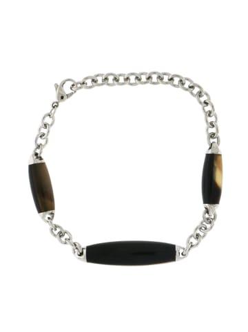 """Morellato Armband """"mit Horn SYU07"""" in silber und braun und schwarz"""