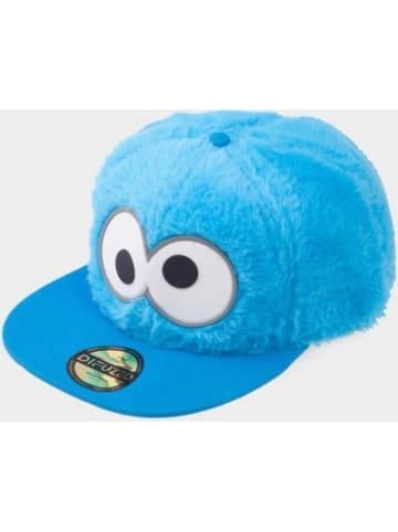 Difuzed Sesamstrasse Snapback Cap Cookie Monster