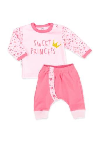 Baby Sweets 2tlg Set Shirt + Hose Sweet Princess in rosa
