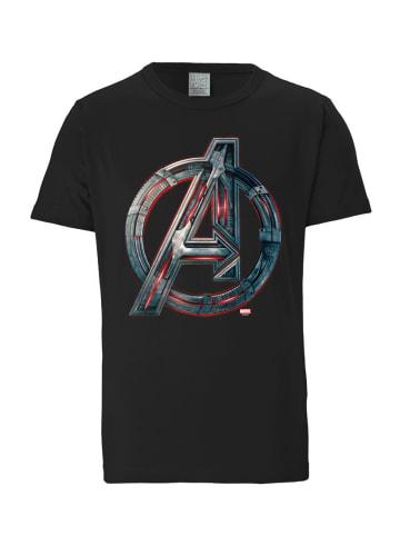 Logoshirt T-Shirt Avengers - Age Of Ultron in schwarz