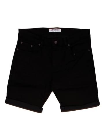 Just Junkies Jeansshorts Shorts Mike Shorts Black Night in schwarz