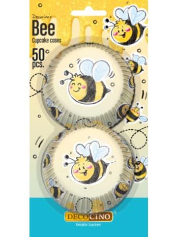 Dekoback Muffinförmchen Bee, 50 Stück