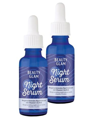BEAUTY GLAM Gesichtsserum Beauty Glam Night Serum (2er Pack) in transparent
