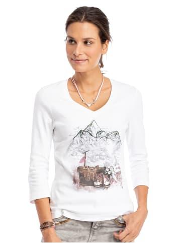 Trachten Stoiber Shirt 321124 weiss