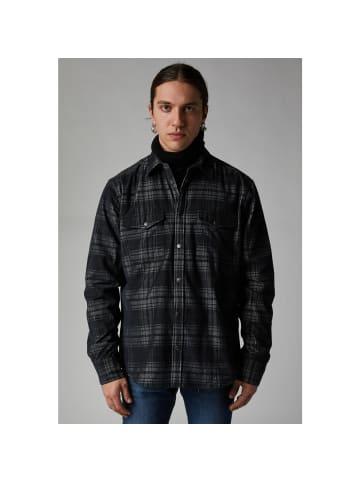 GAS Jeans Hemd N.BOB in check black