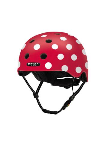 Melon Helmets Urban Active - Dotty White