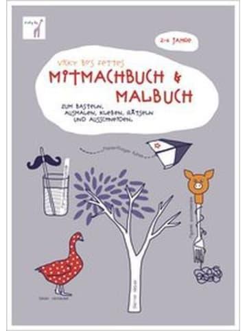 Vicky Bo Vicky Bo's fettes Mitmachbuch & Malbuch