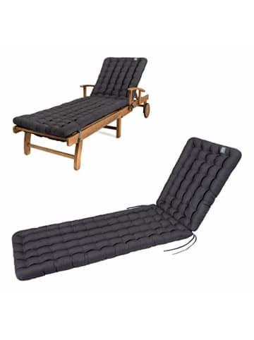 """Have a Seat Polsterauflage """"Gartenliege"""" in grau"""