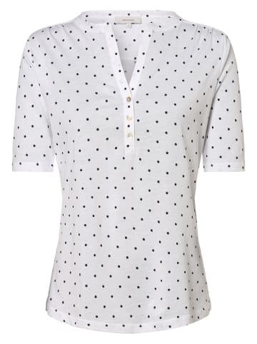Apriori Shirt in weiß marine