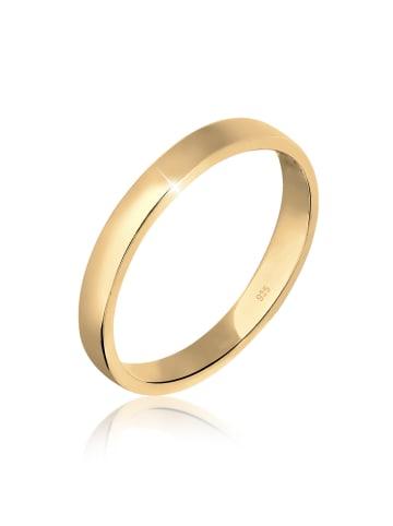Elli Ring 925 Sterling Silber Ehering in Gold