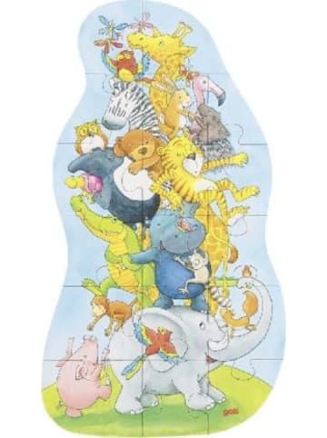 Gollnest & Kiesel XXL Puzzle Tierpyramide (Kinderpuzzle)