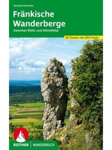 Bergverlag Rother Rother Wanderbuch Fränkische Wanderberge