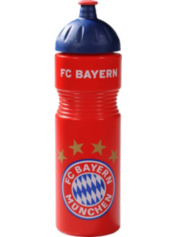 FC Bayern Trinkflasche, rot