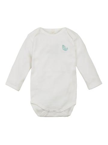 "Sense Organics Organic Baby Langarmbody ""Yvon"" in Weiß"