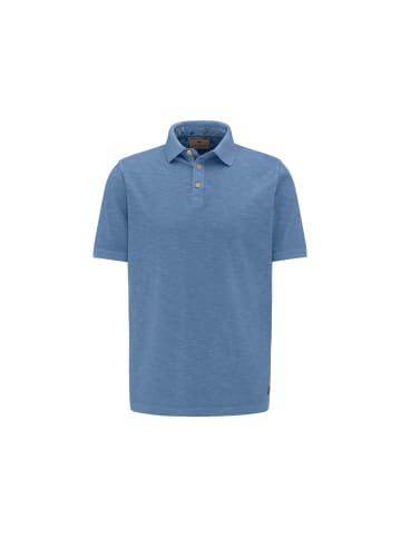 FYNCH-HATTON Poloshirt kurzarm in dunkel-blau