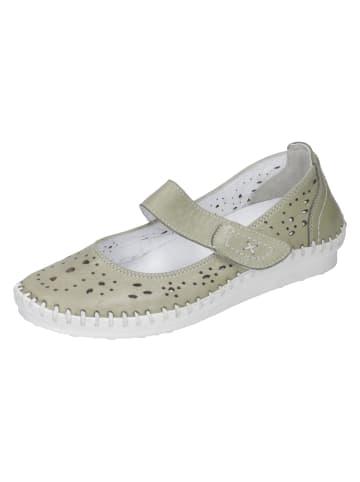 Comfortabel Komfort-Slipper in grün