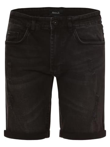 Aygill's Jeansshorts Newcastle Short in schwarz