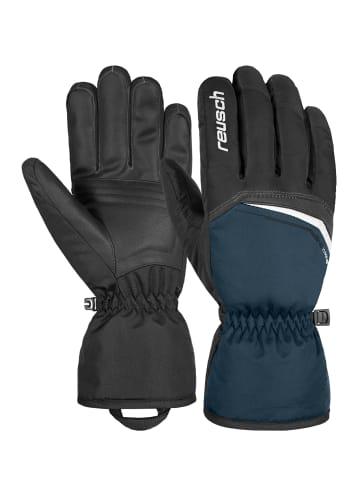 Reusch Fingerhandschuh Snow King in black / dress blue