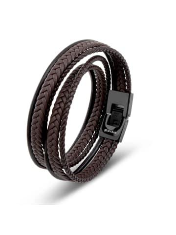 "SERASAR Armband ""Wrap"" in Braun"