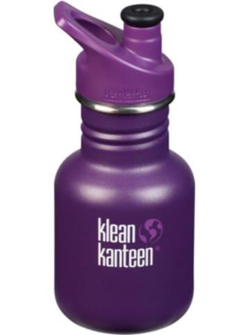 Klean Kanteen Edelstahl-Trinkflasche KID CLASSIC Grape Jelly, 355 ml, Sport Cap