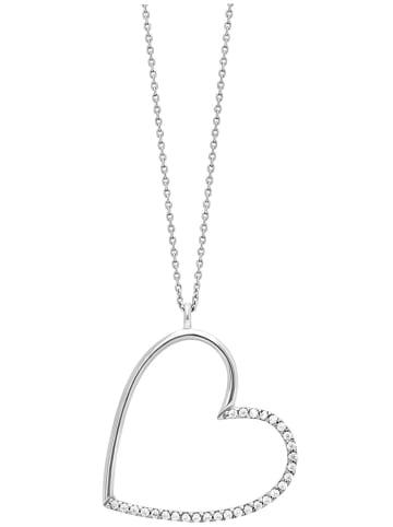 Julie Julsen Silber Damen-Halskette Herz