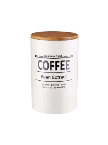 Butlers Vorratsdose Coffee 1100ml KARLTON BROS. in weiß