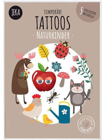 JEKA Papier und Spielwaren Temporäre Tattoos Naturkinder