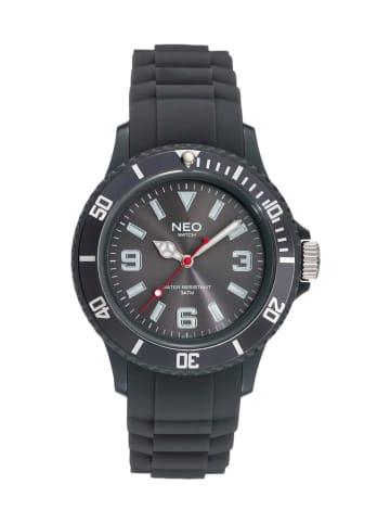 NEO Watch NEO Watch Armbanduhr aus Kunststoff in Anthrazit