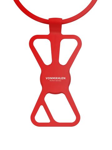 VONMÄHLEN Handykette Infinity in red