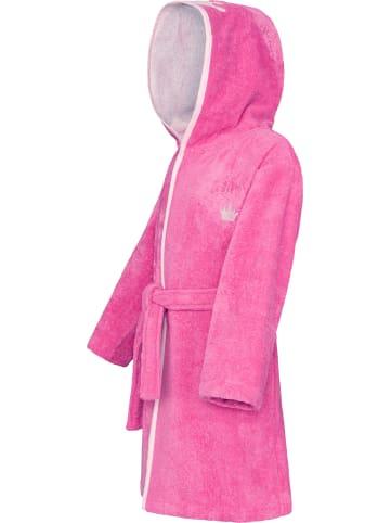 Smithy Bademantel Schmuseflausch in Pink