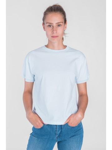 """STORY OF MINE  T-Shirt """"SOM"""" in light blue"""
